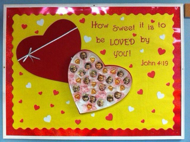 Valentine's board idea