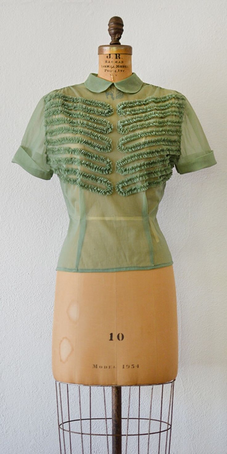 vintage 1950s blouse | Tenterfield Blouse from Adored Vintage