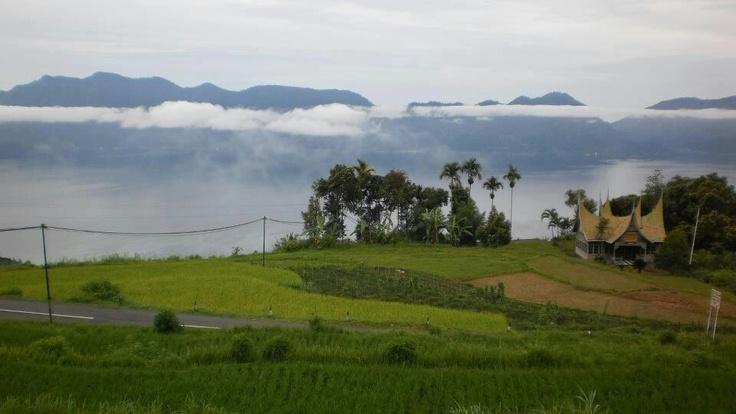 Lake Maninjau. West Sumatera.