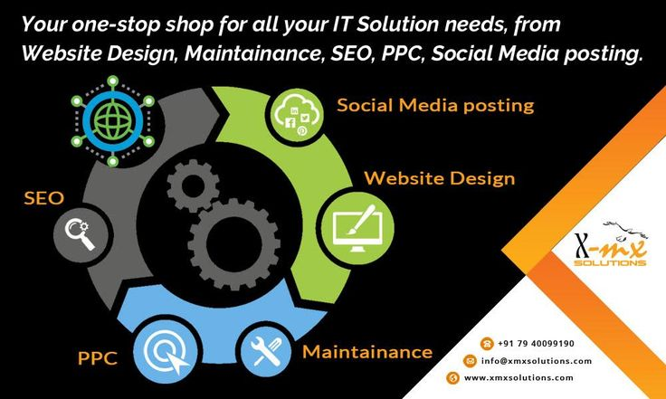 Your one-stop shop for all your IT Solution needs, from Website Design, Maintainance, #SEO, #PPC, Social Media posting. http://www.xmxsolutions.com/  #seoservices #websitedesign #itconsultant #ppc