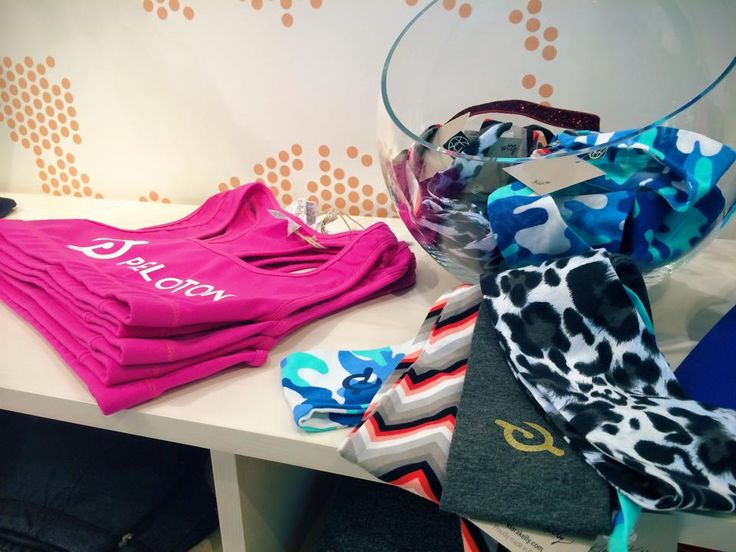 Spotted some of our headband scarves at Peloton Cycle at the Natick Mall! Awesome store and employees :)   #fitness #fashion #health #fitfam