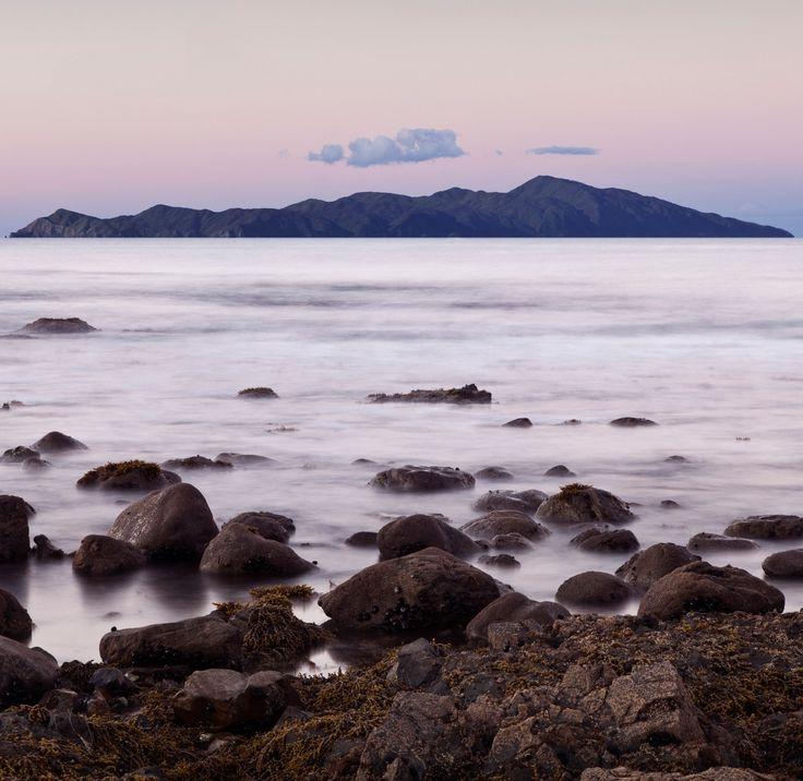 Kapiti Island from Pukerua Bay