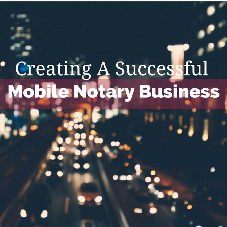 Need help starting your mobile Notary business? We're featuring some fantastic tips from California Notary and NNA Conference presenter Laura Biewer.