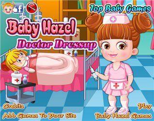 Baby Hazel Doctor Dressup,Bébé jeux,k7x.com,jeux en ligne gratuits