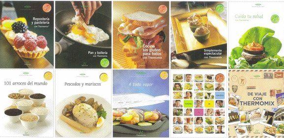 Todos los libros oficiales de Thermomix | 89 libros | pdf , epub | español | UL - Descargar Gratis