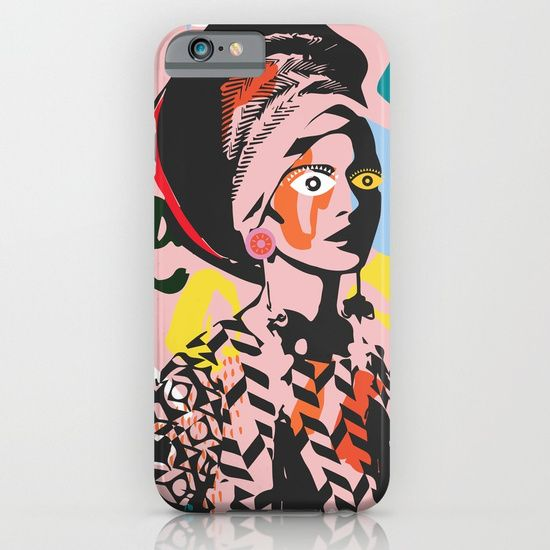 Pahlavani Creative beautiful prints, #iphonecase #pattern #girl #woman #colorful #pahlavanicreative #dots #red #pink #pattern #woman