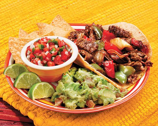 Carne Asada Tacos (Javier) - Recipes at Penzeys Spices.  Serve with Pico de Gallo: http://www.penzeys.com/cgi-bin/penzeys/recipes/r-penzeysPicoDeGallo.html?id=DStSfctU