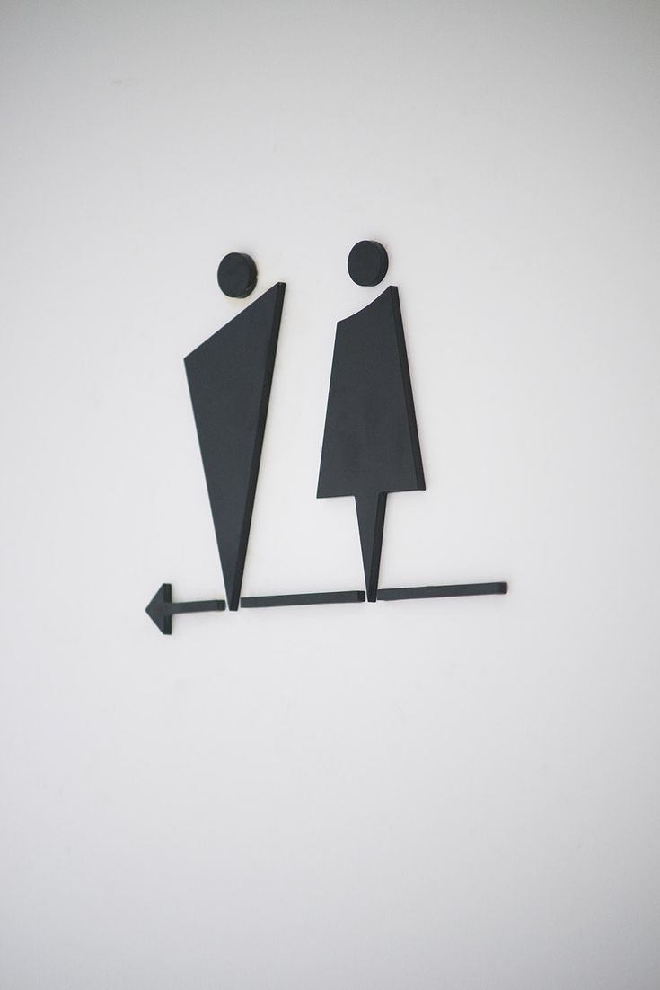 Girls bathroom sign outline - Guoyi Urban Restroom