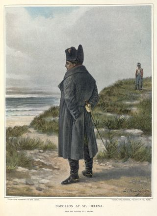 Napoleon in exile in St Helena
