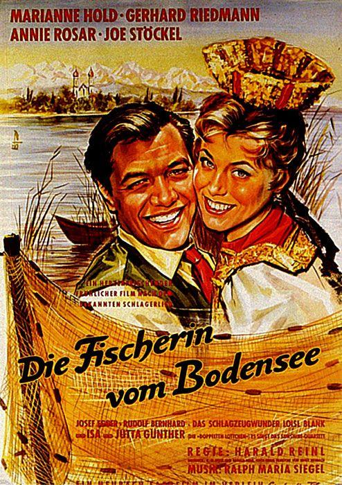 Poster zum Film: Die Fischerin vom Bodensee. 1956