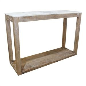 Kota Marble Top Console Table