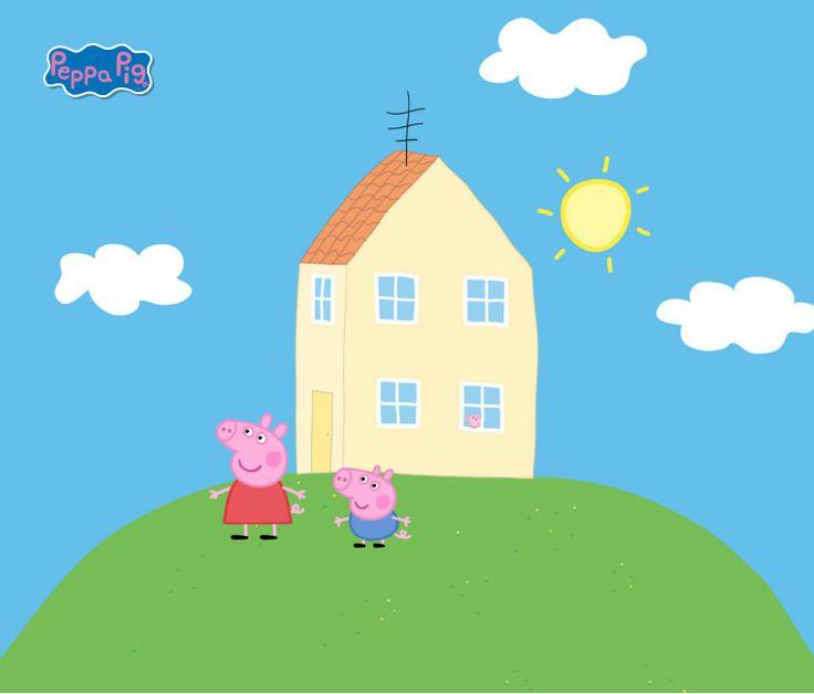 Pin by Mary Gonzalez on Peppa | Peppa pig house, Peppa pig ...