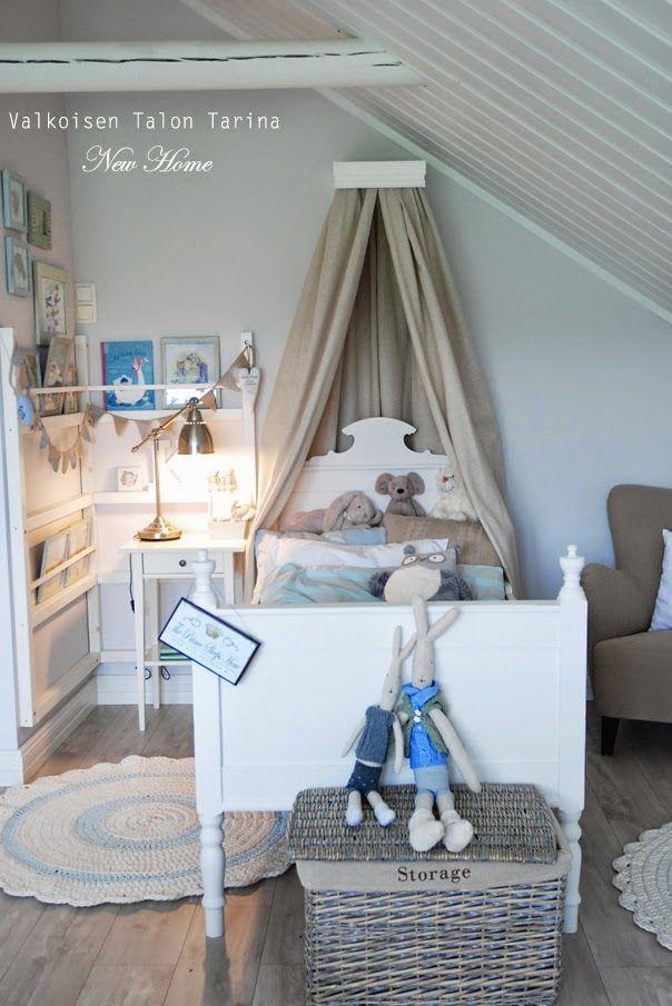 Valkoisen Talon Tarina: LASTENSÄNGYN TUUNAUS & DIY