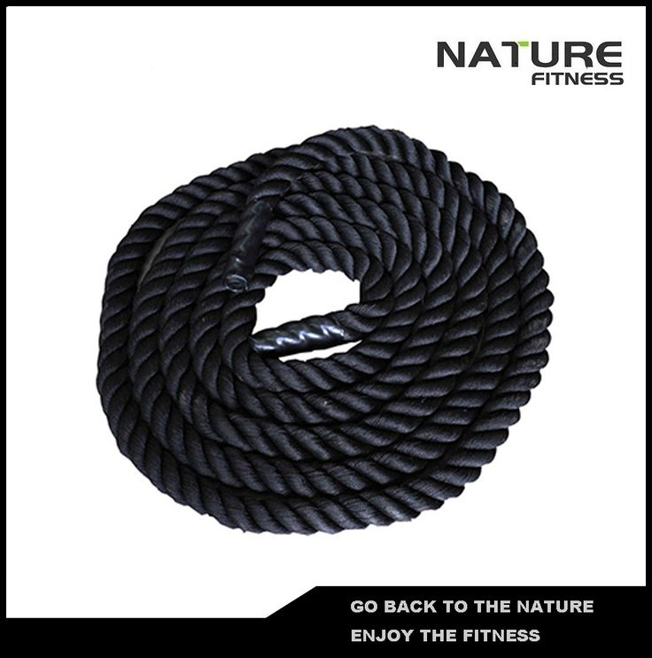 "Length 15m 1.5"" Thick Fitness Rope Battling Rope, Power Rope For Bodybuilding Free Shipping"