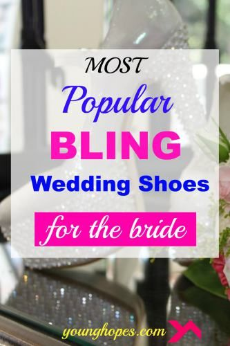 Most Popular Bling Wedding Shoes for Bride