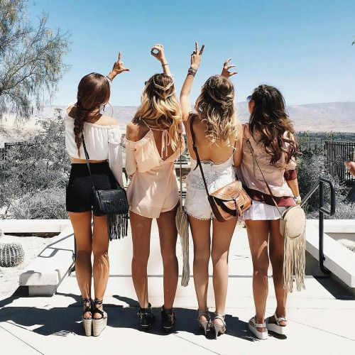 summer, friends, hair, boho, bohemian, poses, pictures, tumblr