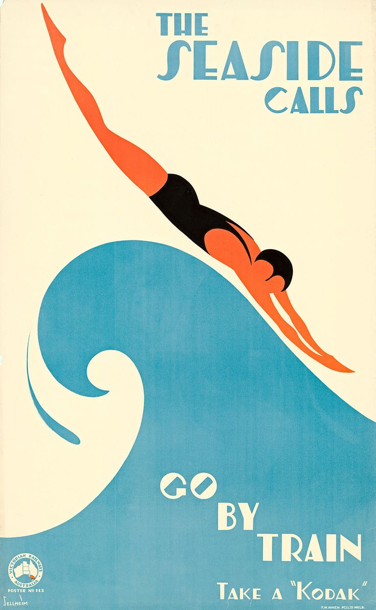 1930s Australia: the artwork deco designs ushering in a courageous new world – in footage