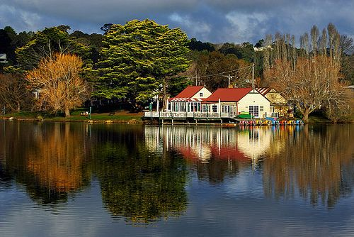 Daylesford, Victoria, Australia - great food, great shopping.
