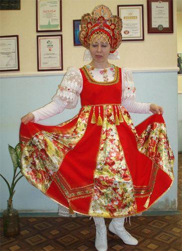 проект русский народный костюм общественная организация - Стиль жизни
