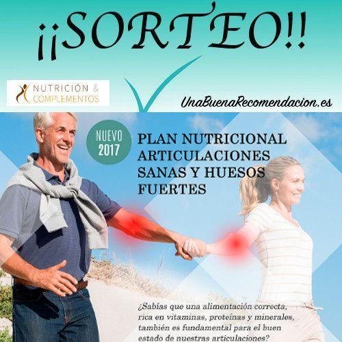 Sorteo Plan Nutricional Articulaciones Sanas y Huesos Fuertes