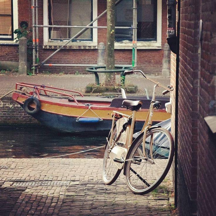 Dutch bikes #holanda #amsterdam #leiden #netherlands #bikes #bicicleta #bicycle #traveltheworld