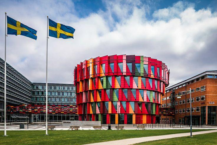 "Kuggen (""Cogwheel"") - Chalmers University of Technology, Göteborg, Sweden - Wingårdh Arkitektkontor (2011)"