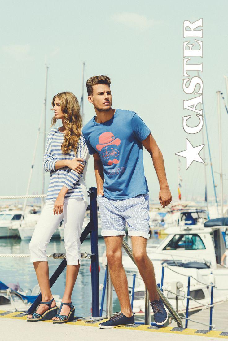 """Disfruta de un día de verano con estos outfits marineros. El blanco y el azul se convierten en protagonistas de """"Mediterránea"""""""