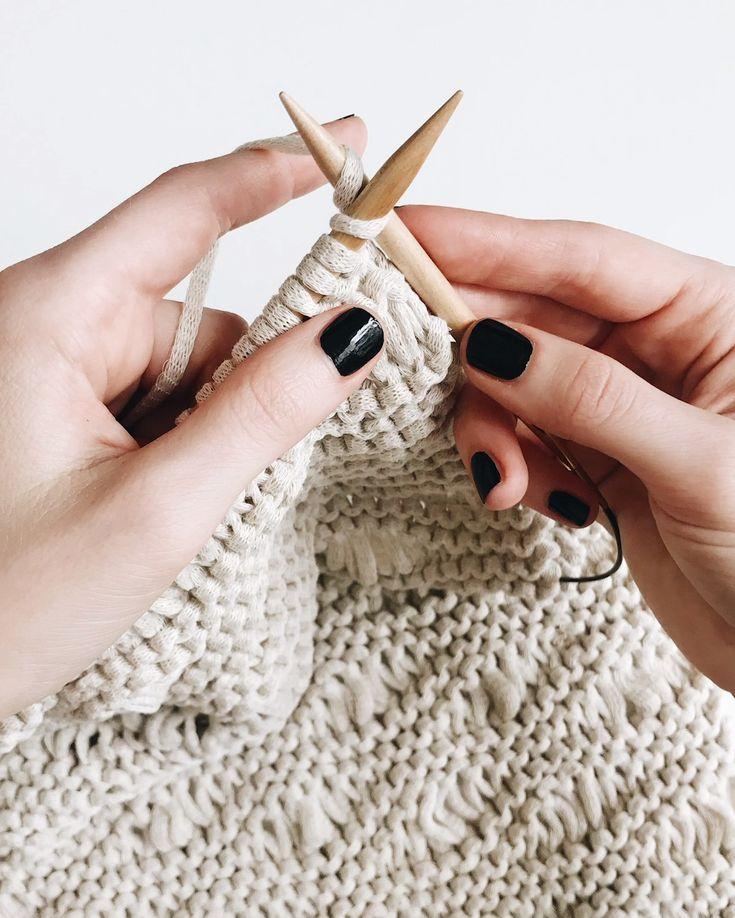Knit Wall Hanging Pattern