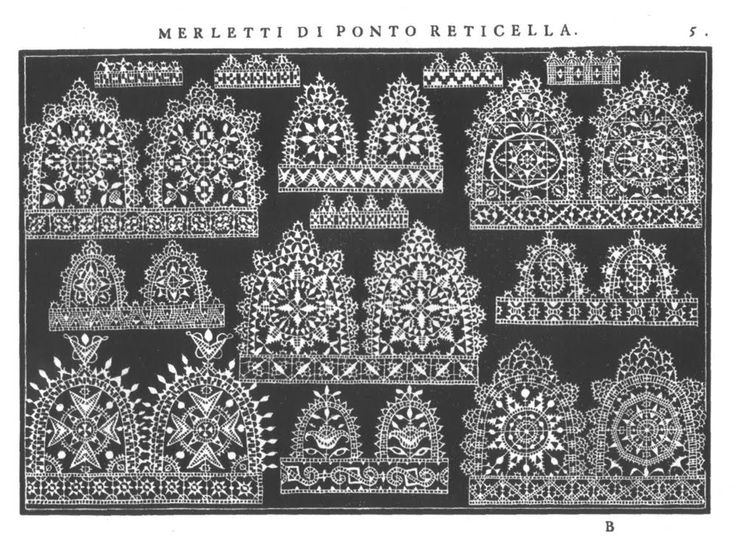 Italian Needlework: Different Styles of Reticello - Part Four