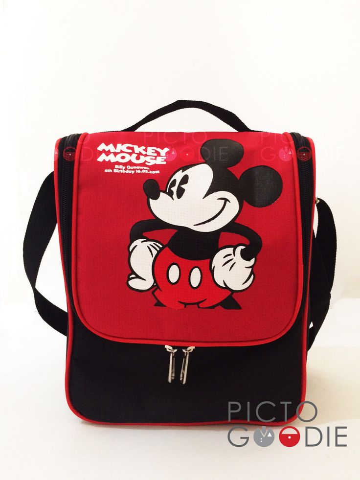 Tas Lunch Bag - Mickey Mouse Theme