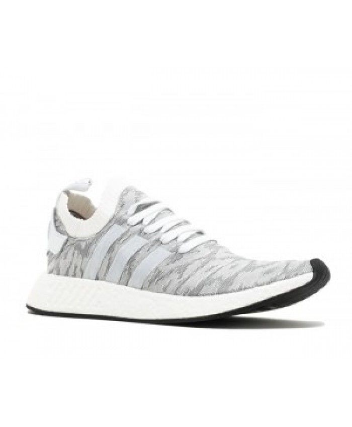 the best attitude 87af3 424ff Adidas Nmd R2 Pk Running White/Running White/Core Black ...