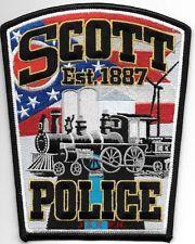 Scott Ohio police patch