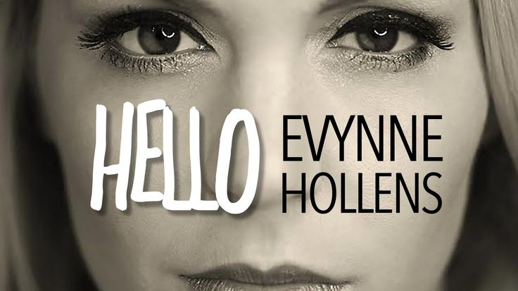 Hello - Adele (Cover) by Evynne Hollens --- Since I currently LOVE Adele's latest song, I was excited to see Evynne's version. AND I LOVE IT!!!