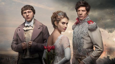 ~ War and Peace, a novel after Leo Tolstoy, to be shown on BBC. It is a great story about Russian noble families lived between 1810-1814 in the era of Alexander I and Napoleon. The book is also available on Amazon ~~
