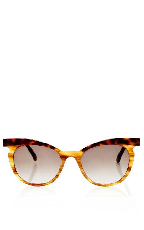 Two-Tone Cat Eye Sunglasses by Marni