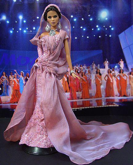 Barbie Miss Tunisia Ninimomo 2010