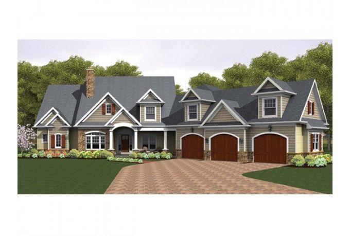 82 best images about house plans on pinterest bonus for Half basement house plans