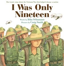 The iconic song about the Vietnam war that helped change a nation. A picture book developed from the song.