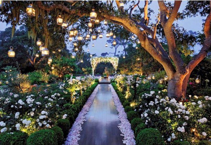 Gloomy 25+ Amazing Garden Wedding Lighting Design Ideas  https://oosile.com/25-amazing-garden-wedding-lighting-design-ideas-16202