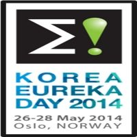 Korea Eureka Day 2014 is focused on linking Korea & Europe towards Global Innovation and promoting Korea-Europe R&D cooperation. This event will be held in Oslo, Norway, from 26-28 May, 2014.