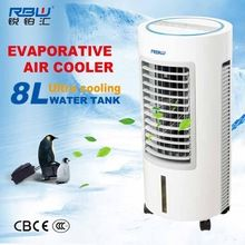 Myanmar Cheap price mini room cylindrical portable small air cooler with removable water tank