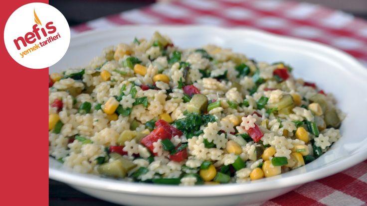 ✿ ❤ ♨ Yıldız Şehriye Salatası | Nefis Yemek Tarifleri