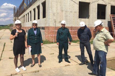 Главгосстройнадзор проверил безопасность на стройплощадке в Домодедово - Сайт города Домодедово
