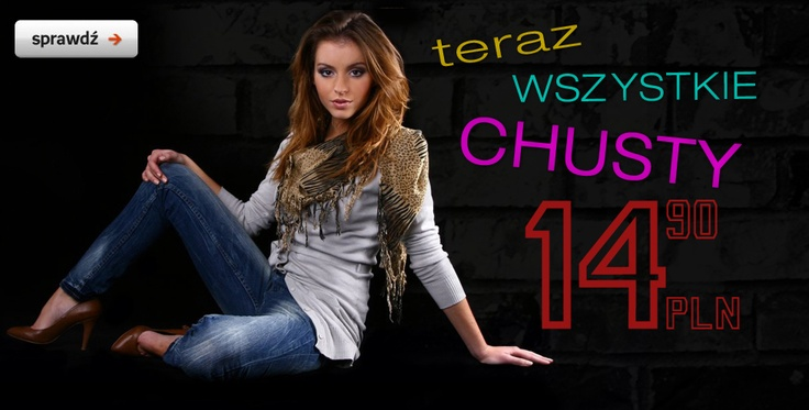 Teraz wszystkie chusty 14.90pln! Zobacz: http://www.butik.net.pl/pol_m_Akcesoria_chusty-116.html