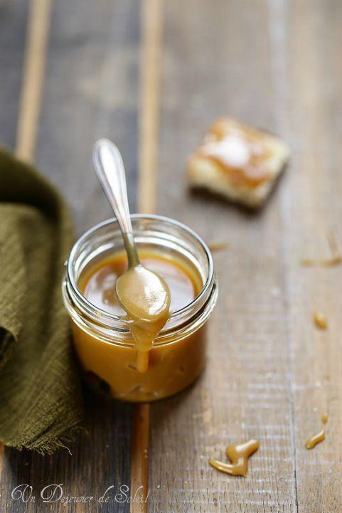 Pâte à tartiner au sirop d'érable à mettre sur les crêpes ou sur des pancakes pour la Chandeleur...