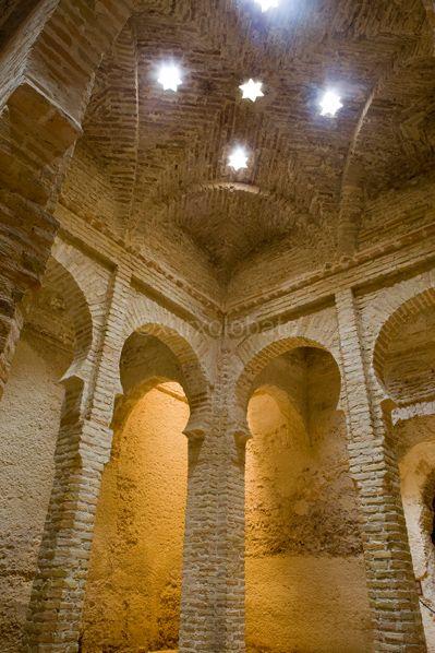 Baños árabes de Jerez de la Frontera, Cádiz.