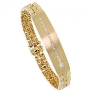 Gold Rolex Link Style Men's Bracelet