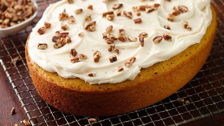 Slow-Cooker Pumpkin Cake with Cream Cheese Frosting Make a stunning, moist pumpkin cake with the help of your slow cooker!