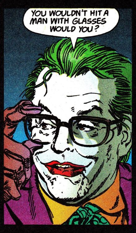 The Joker in Batman: The Official Comic Adaption (1989) - Jerry Ordway (pencils/inks) & Steve Oliff (colors)