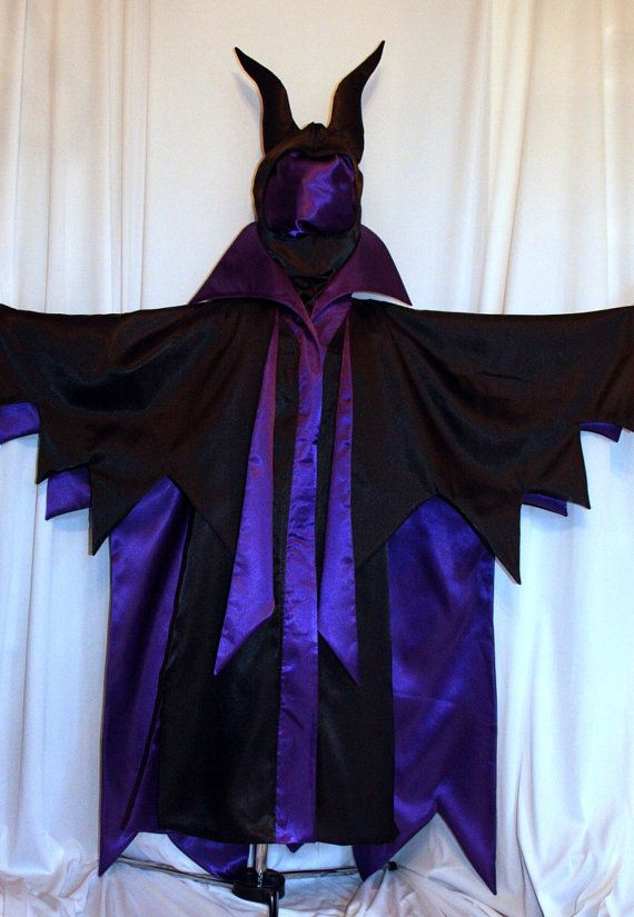 Sleeping Beauty's MALEFICENT ADULT COSTUME by mom2rtk on Etsy OMG..this woman makes the most incredible Disney costumes.!